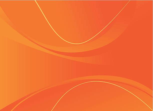 bildbanksillustrationer, clip art samt tecknat material och ikoner med abstract vector background with orange and yellow lines - orange bakgrund