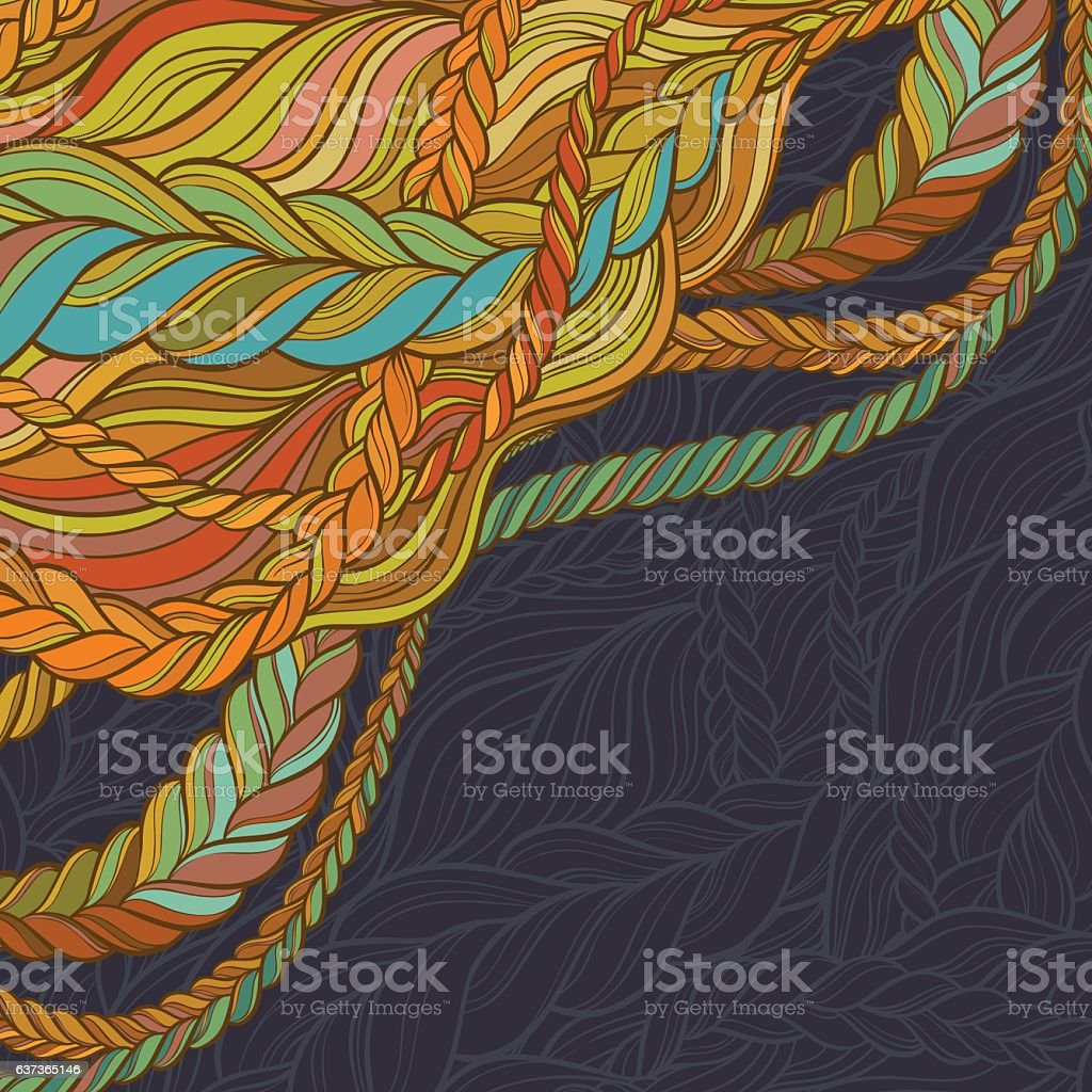 abstract vector backgroung vector art illustration