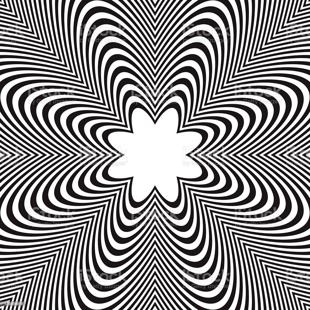 abstract vector black and white striped background optical illusion BMW 535 M Sport abstract vector black and white striped background optical illusion royalty free abstract vector black