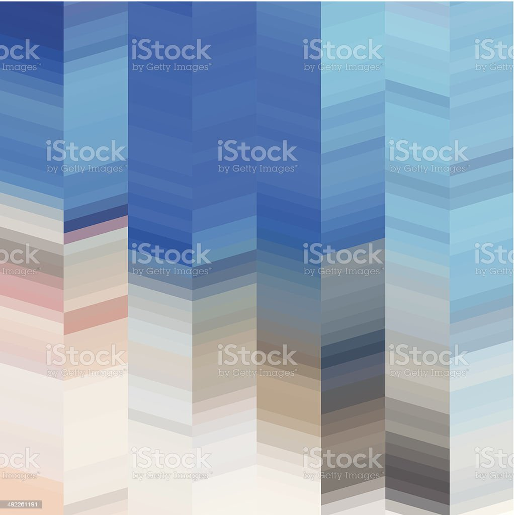 abstract vector blue stripe pattern background