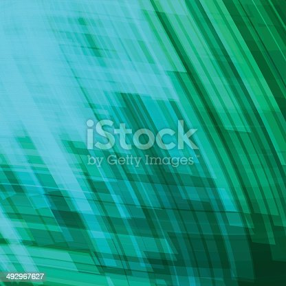 istock abstract vector blue stripe shape technology background 492967627