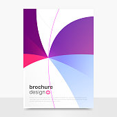 Abstract Vector Brochure Design. Modern Vector Brochure Mockup. Brochure Templates