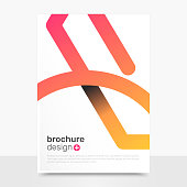 Abstract Vector Brochure Templates. Creative Vector Brochure Mockup. Business Brochure