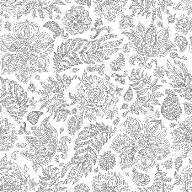 Abstract vector floral seamless pattern exotic silver grey paisley vector id806077218?b=1&k=6&m=806077218&s=612x612&h=0ztvox1l8htmowktkngo7mmxypcpoyqmd tjpi8dike=