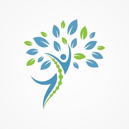 사람들은 나무와 의료 디자인 컨셉에 대 한 추상적인 벡터 0명에 대한 스톡 벡터 아트 및 기타 이미지