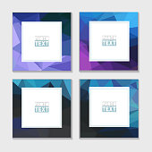 Abstract Art Styles. Decorative triangular vector template frames. Those photo frames you can use for kids picture, funny photos, card and memories. Scrapbook design concept. Insert your picture.