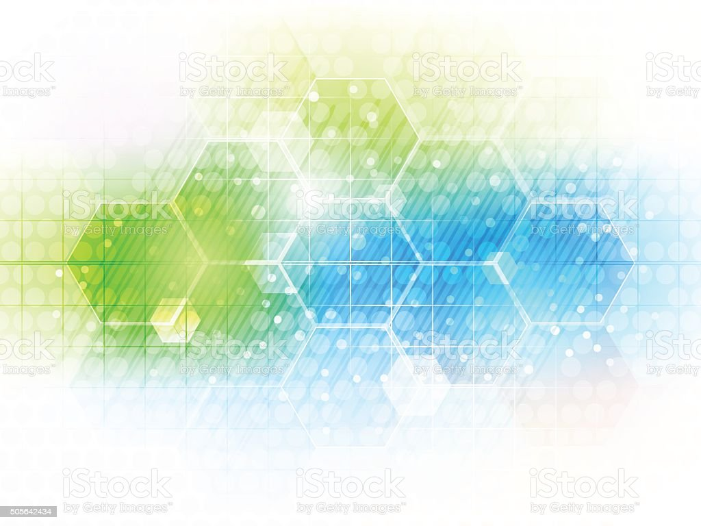 Technology Abstract Background Stock Illustration: Abstract Vector Future Business Technology Background With