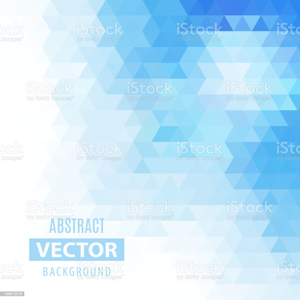 Abstract vector geometrical background vector art illustration