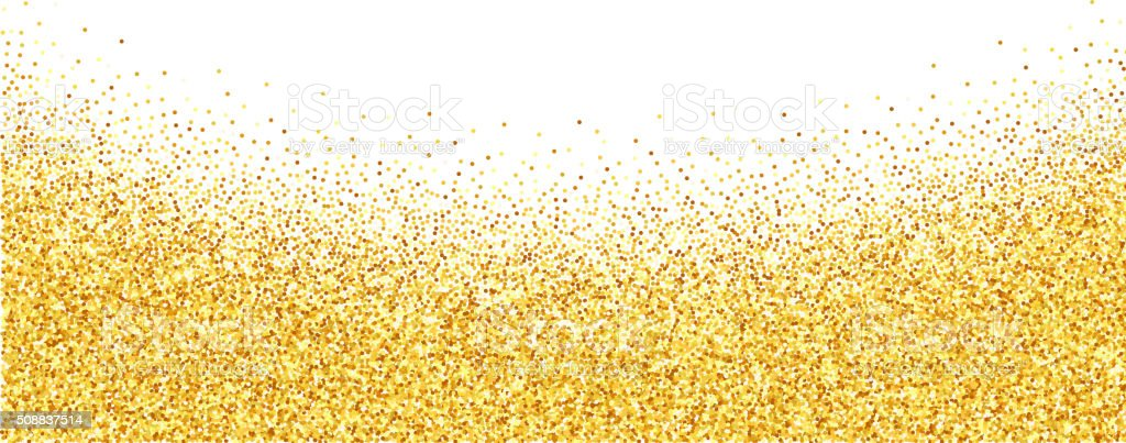 abstract vector gold dust glitter background stock vector