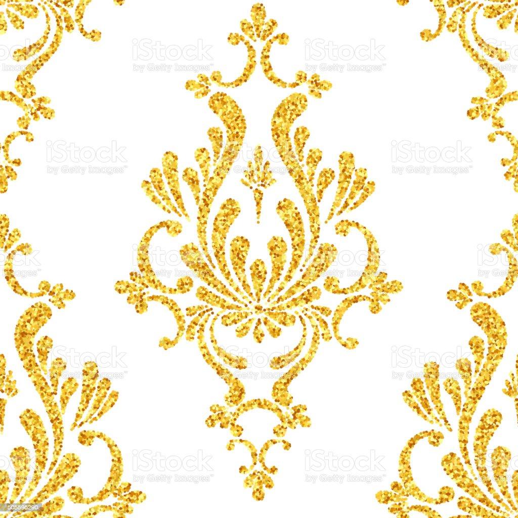 Carta da parati damascata oro un 39 idea for Carta da parati damascata oro