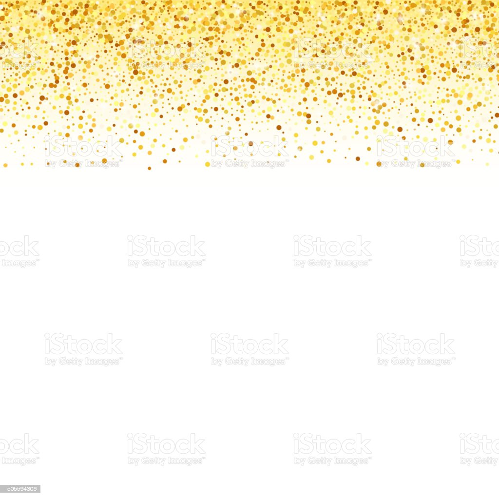 Abstract vector gold dust glitter star wave background for Glitter versiering