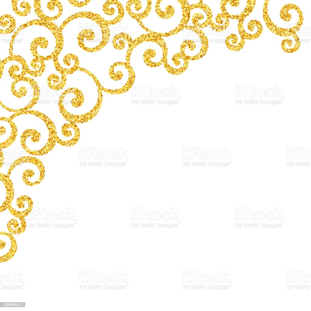 abstract vector gold dust glitter swirl pattern stock vector art rh istockphoto com Glitter Gold Star Cartoon 'Clip Art Purple Glitter Star Clip Art