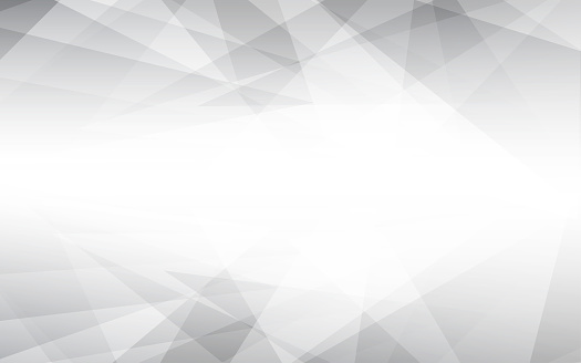 Abstract vector gray background. Lowpoly vector illustration.