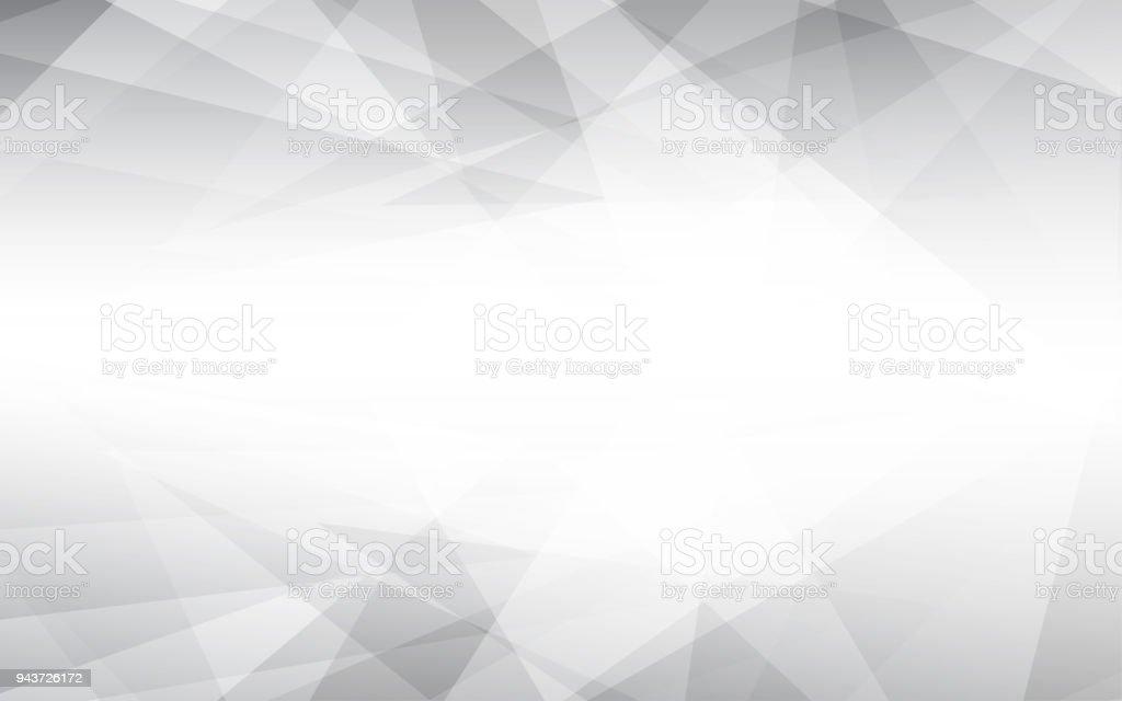 Abstraktes Vektor grauen Hintergrund. LowPoly-Vektor-Illustration. – Vektorgrafik