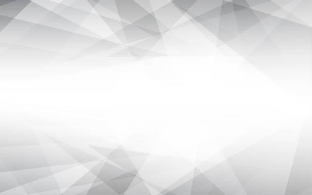 ilustrações, clipart, desenhos animados e ícones de de fundo cinza abstract vector. ilustração em vetor lowpoly. - organic shapes
