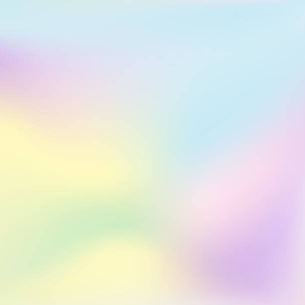 abstract vector  holographic background. - pastel colored stock illustrations, clip art, cartoons, & icons