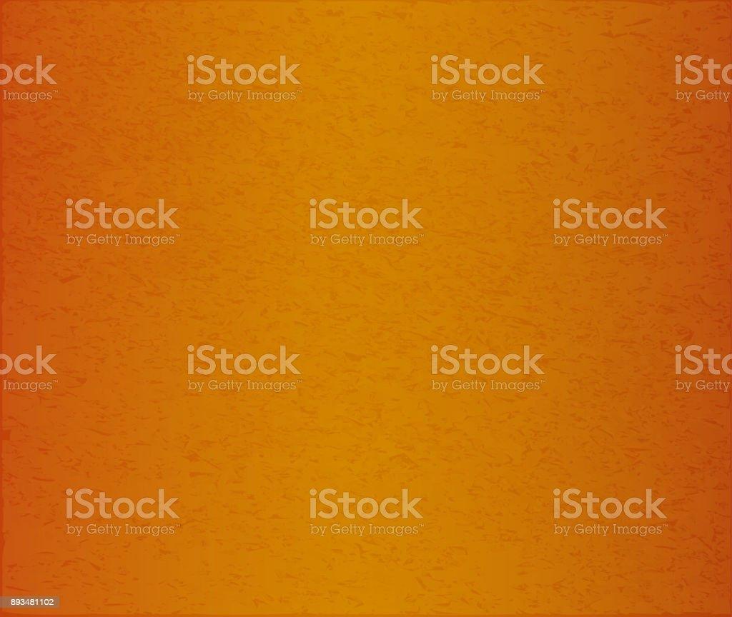 Abstract vector illustration of orange concrete or paper background. vector art illustration