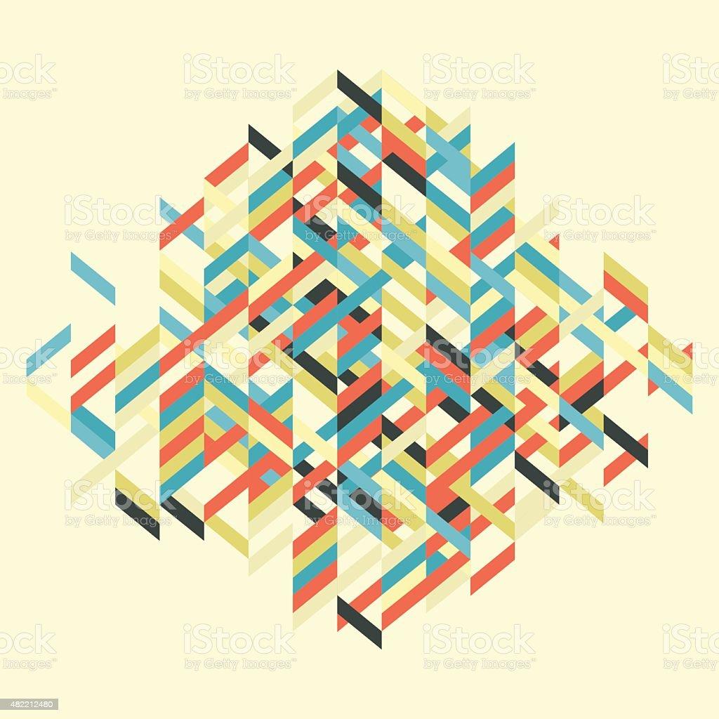 Abstract Vector Illustration. vector art illustration