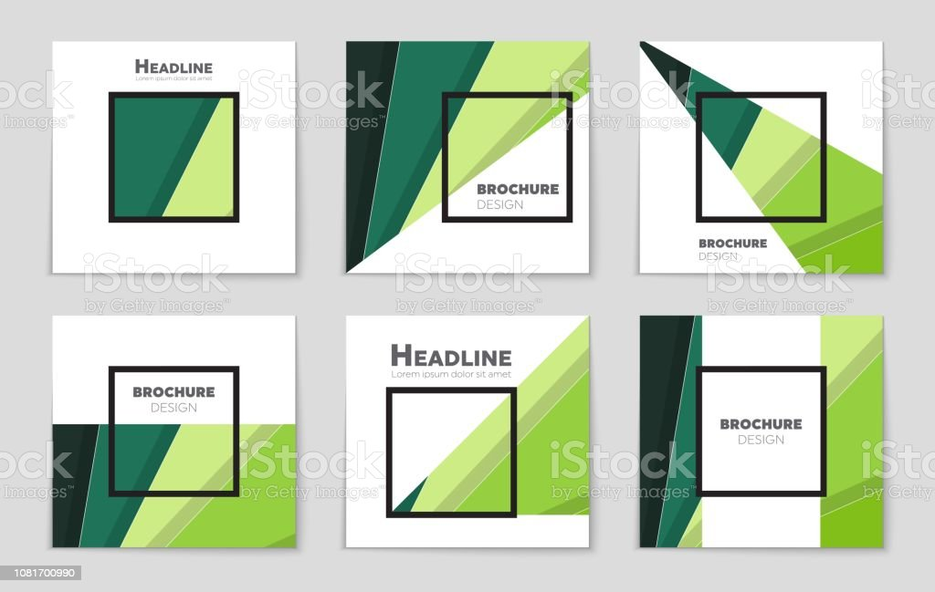 Abstract vector layout background set. For art template design, list, front page, mockup brochure theme style, banner, idea, cover, booklet, print, flyer, book, blank, card, ad, sign, sheet, a4 vector art illustration