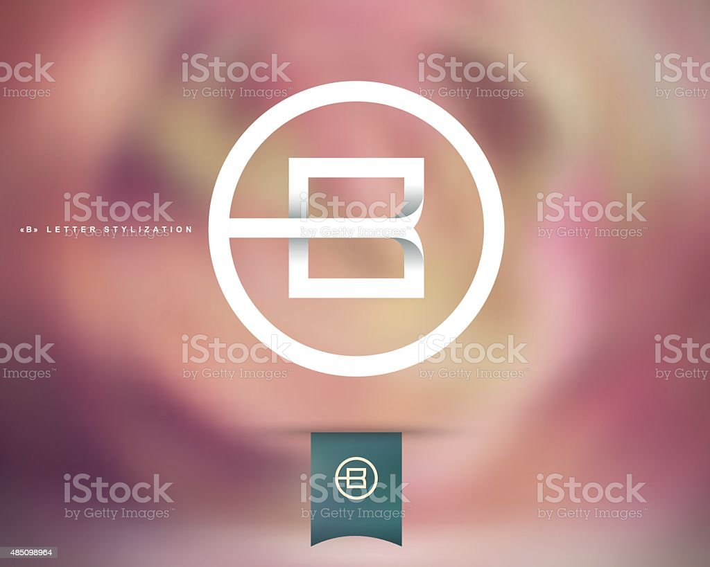 Abstract Vector Logo Design Template vector art illustration