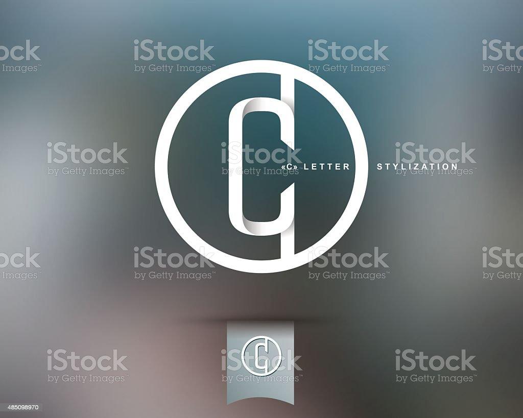 Abstract Vector Logo Design Template vector art illustration