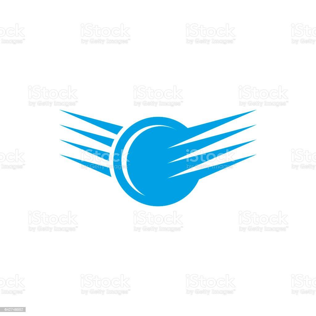Abstrakte Logo Vorlage Zeichen Konzept Vektorgrafik Technologie ...
