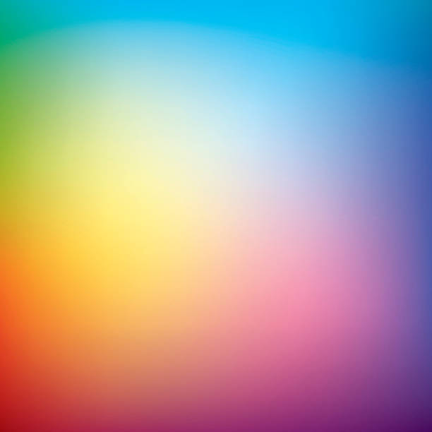 Abstract vector mesh background, multicolor gradient, rainbow ベクターアートイラスト