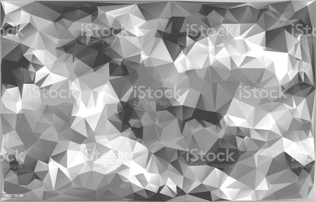 Abstract Vector Military Camouflage Background Made of Geometric Triangles Shapes. ilustração de abstract vector military camouflage background made of geometric triangles shapes e mais banco de imagens de abstrato royalty-free