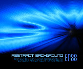 Abstract blue motion blur background. Eps8. RGB. Global colors