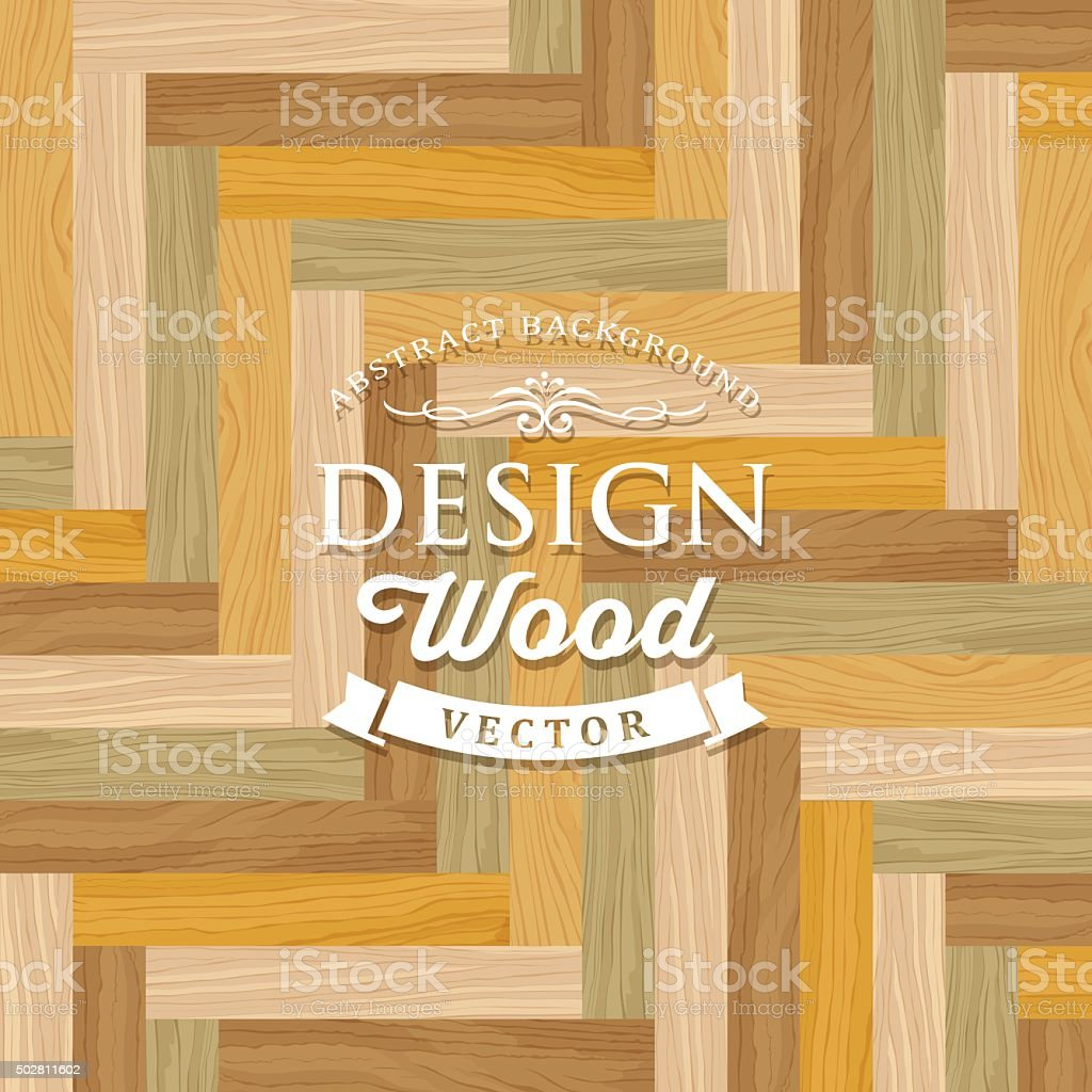 Abstract Vector Multicolored Tile Wood Floor Striped Concept Stock ...