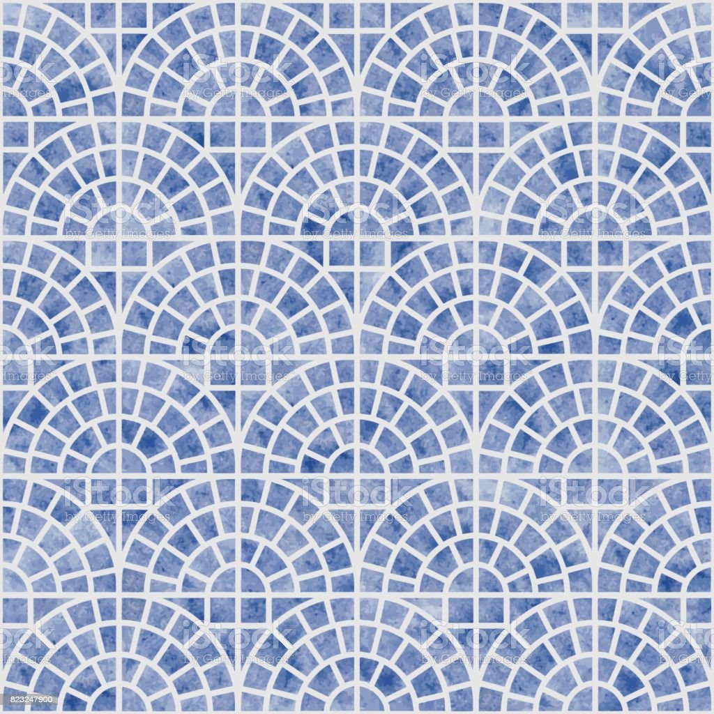 Beautiful Wallpaper Grey Watercolor - abstract-vector-seamless-geometrical-scale-pattern-with-blue-texture-vector-id823247900  Photograph_7862100.com/vectors/abstract-vector-seamless-geometrical-scale-pattern-with-blue-texture-vector-id823247900