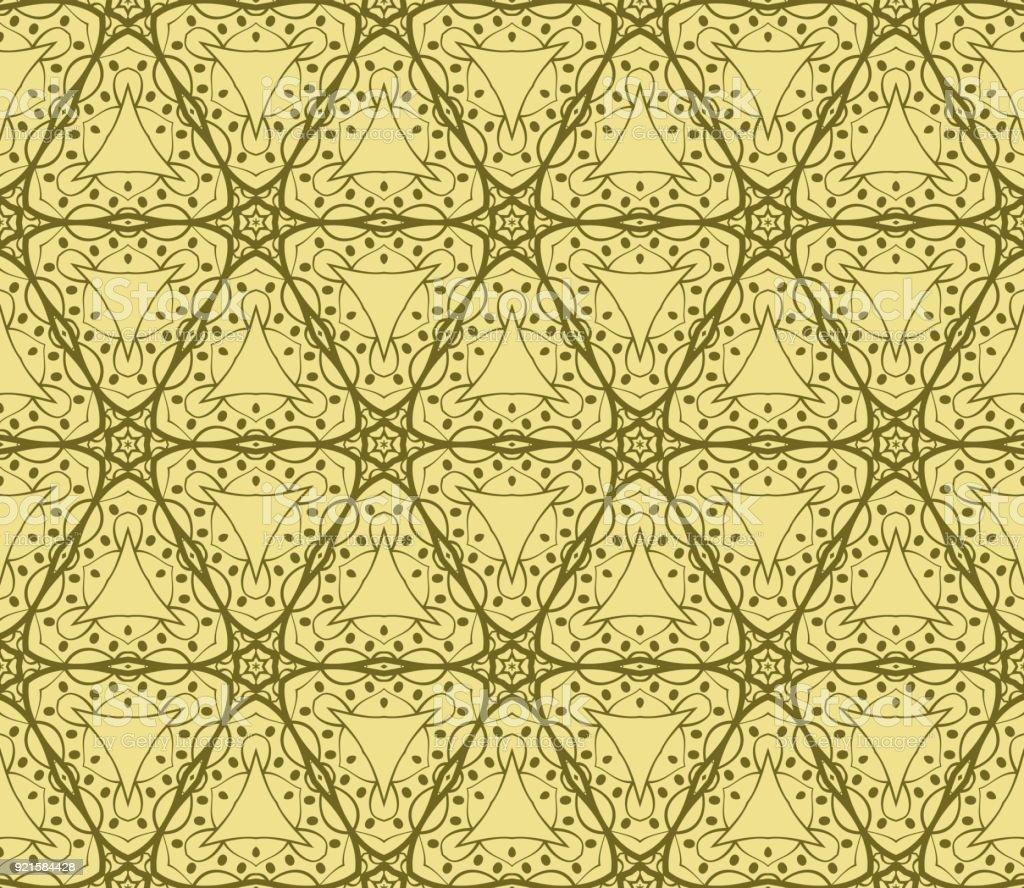 Abstraktes Vektor Nahtlose Muster Mit Abstrakten Geometrischen Stil ...