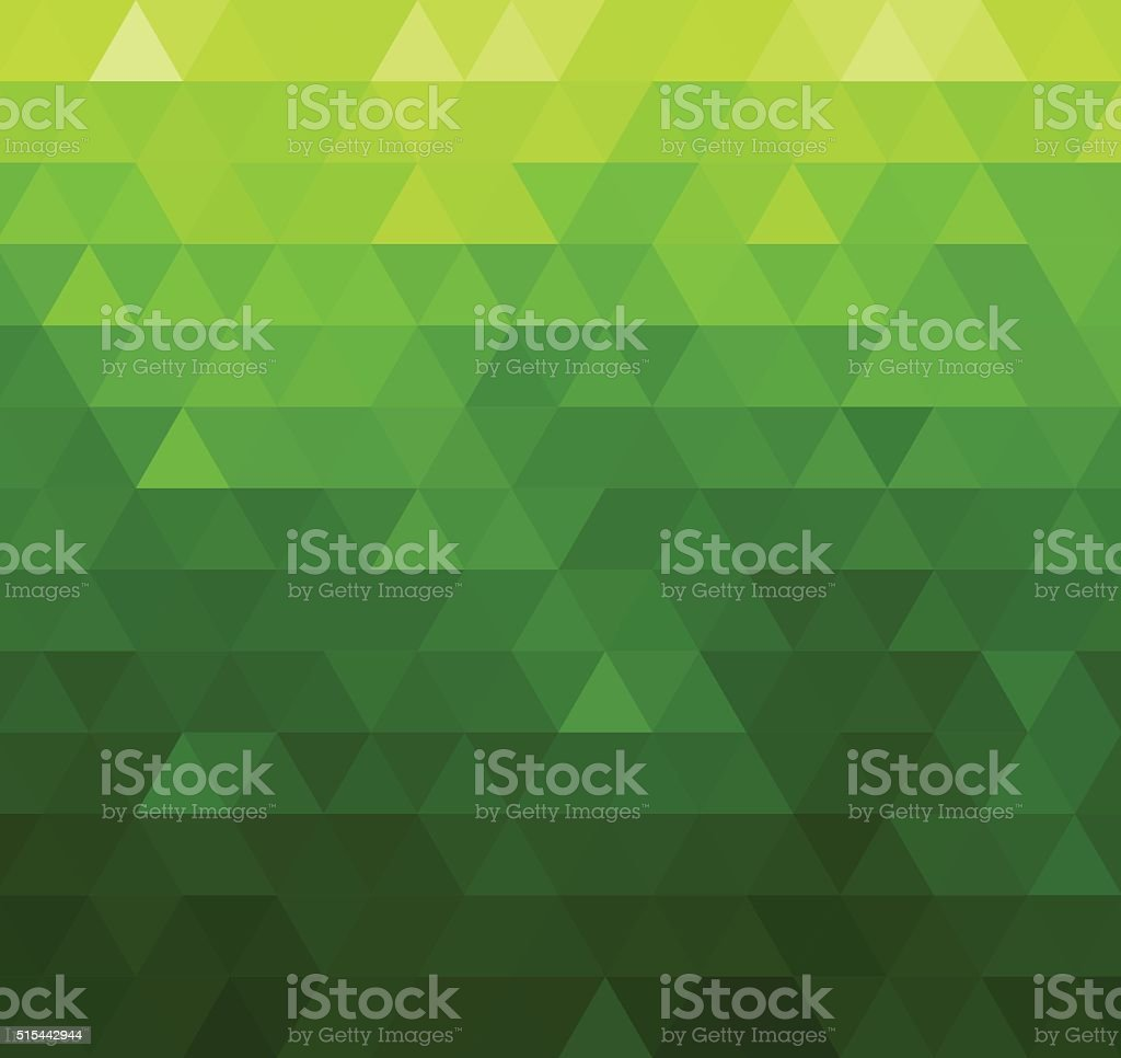 Abstract vector template design with colorful geometric triangular background for vector art illustration
