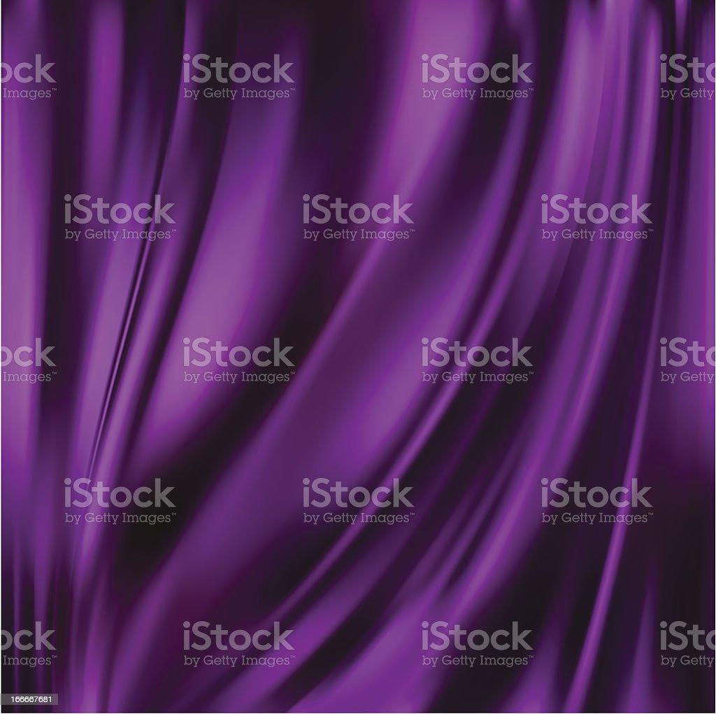 Abstract Vector textura de seda, púrpura - ilustración de arte vectorial