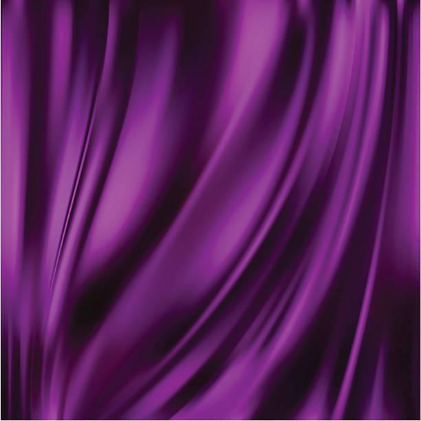 stockillustraties, clipart, cartoons en iconen met abstract vector texture, purple silk - zijde