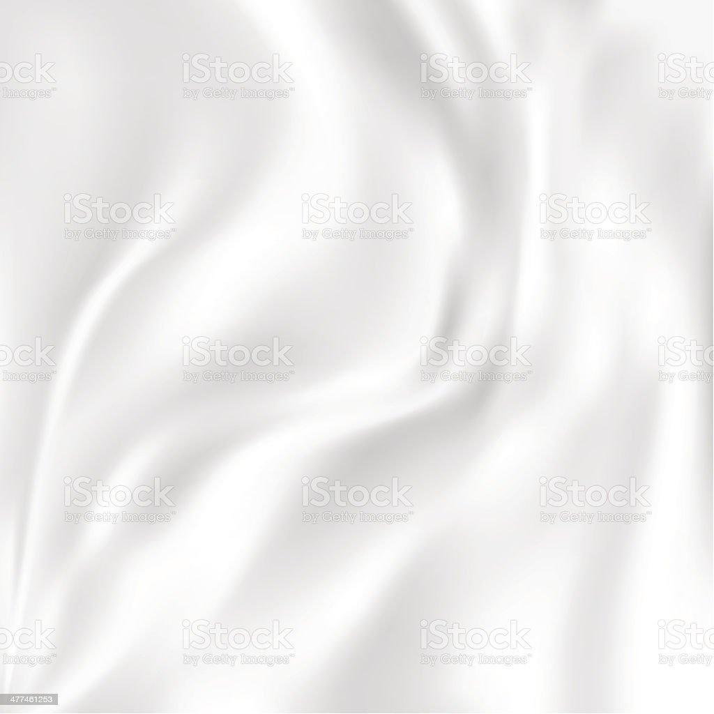 Abstract Vector textura de seda, blanco - ilustración de arte vectorial