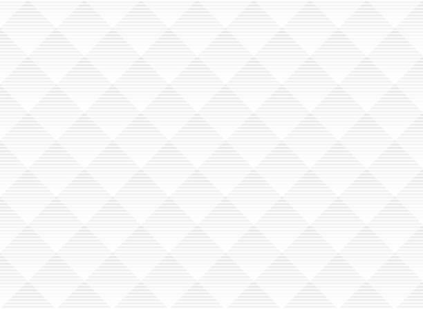 illustrazioni stock, clip art, cartoni animati e icone di tendenza di sfondo astratto vettoriale bianco e grigio sottile motivo reticolare. stile moderno con traliccio monocromatico. ripetere la griglia geometrica. - motivo ripetuto
