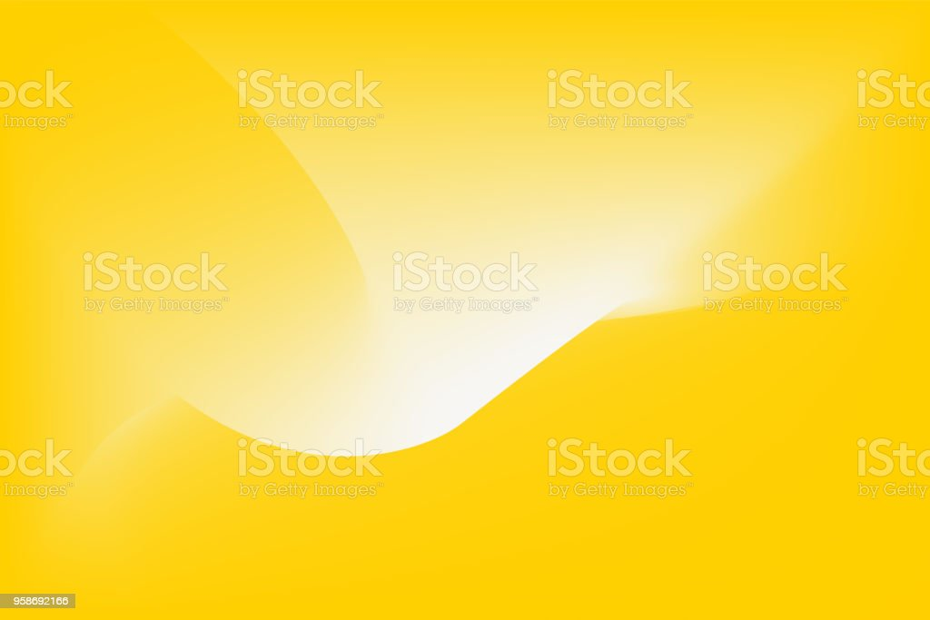 Abstract vector yellow background vector art illustration