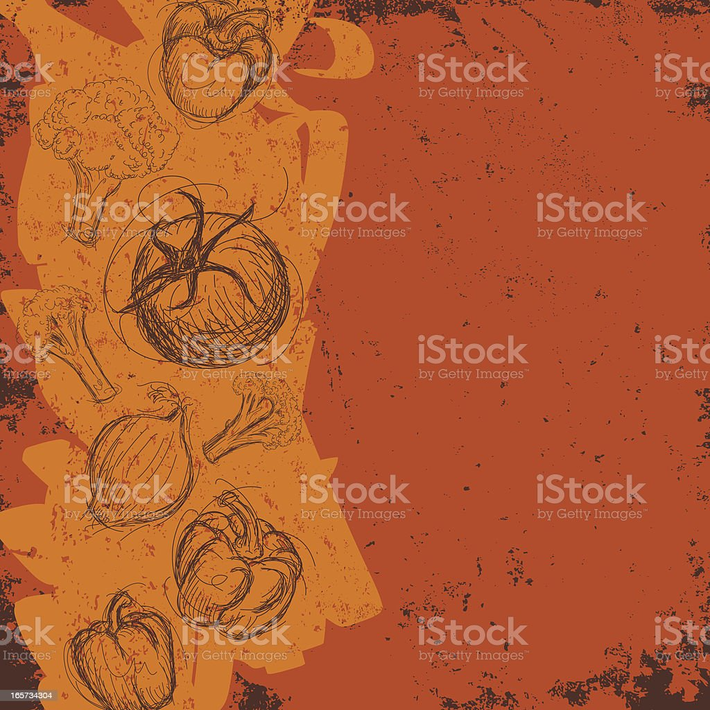 abstract vegetable background royalty-free stock vector art