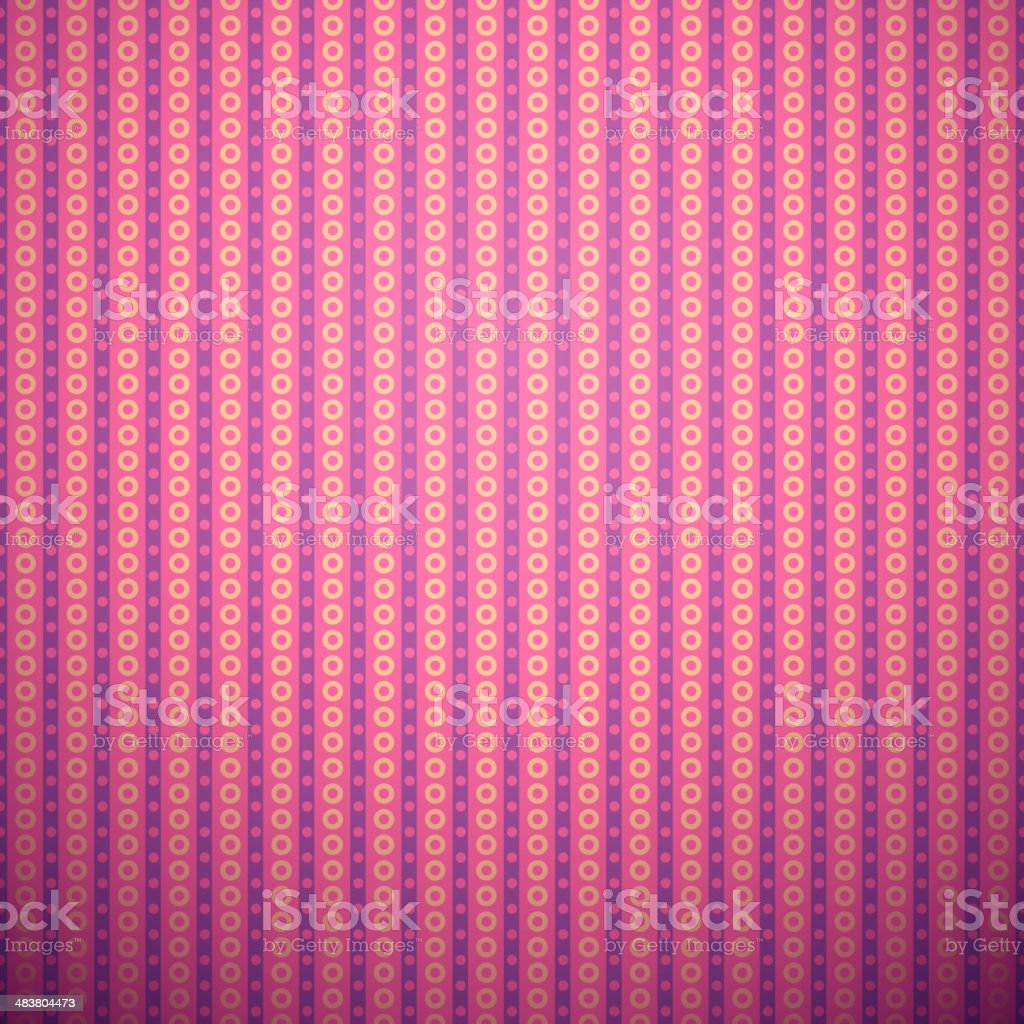 Abstract vertical pattern wallpaper with circles. royalty-free stock vector art