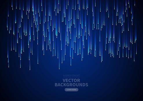 Abstract vertical tech light background