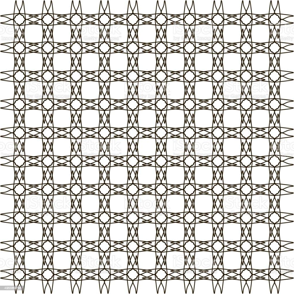 Abstrait Arriereplan De Papier Peint Vintage Motif Geometrique