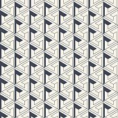 Abstract wall paper geometric design