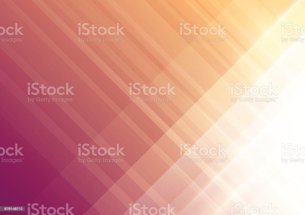 abstract warm summer background vector art illustration