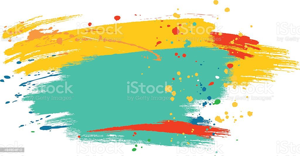 abstract  watercolor background vector art illustration
