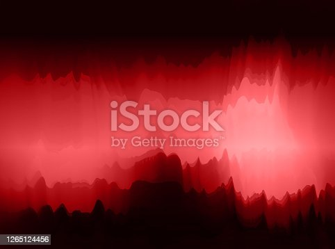 istock Abstract watercolor painting pattern background for design 1265124456