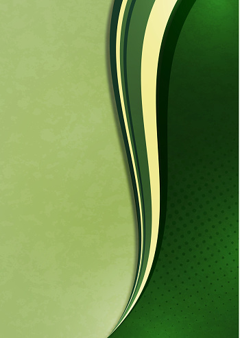 Abstract wave background. Cover design template. Creative design. Vector