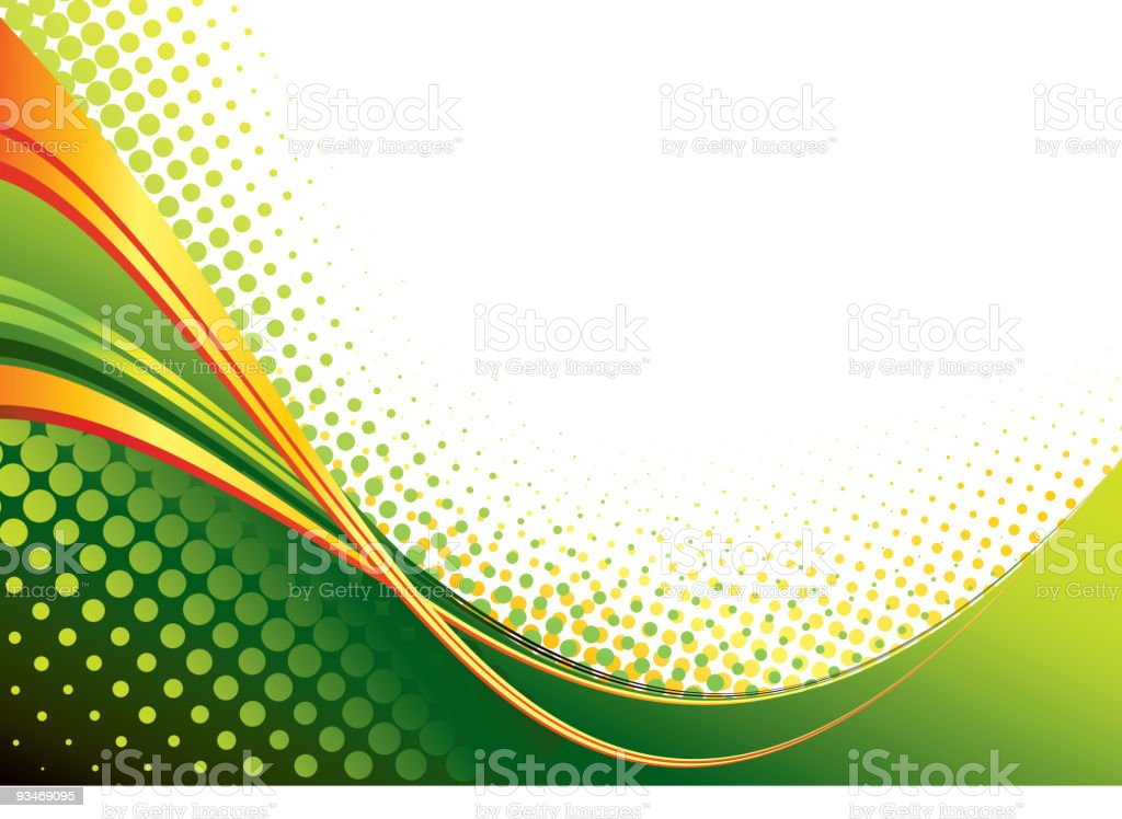 Abstract wave background royalty-free stock vector art