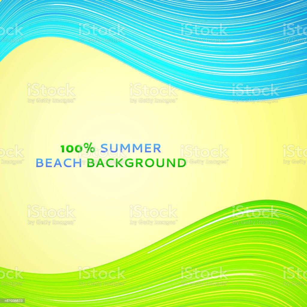Abstract wave background. Vector illustration. vector art illustration