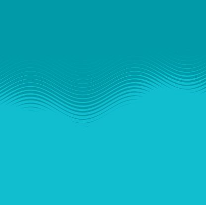 Abstract wave half tone background
